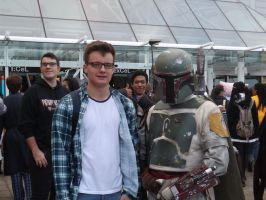 Boba Fett Cosplayer by Collioni69