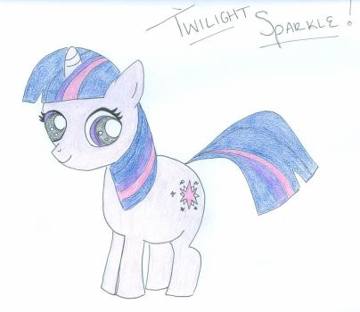 Twilight Sparkle by Kait-The-Fearless