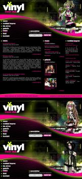 vinyl clubbing layout by karincoma