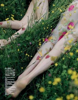 Vogue Japan August issue by AlexandraSophie