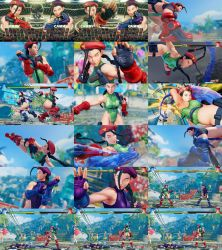 Cammy Cannon Spike Black Hair Non Jacked Uncensor by bbbSFXT