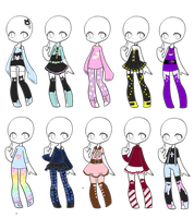 Outfit Adopts 37 *Closed* by Canaddicted