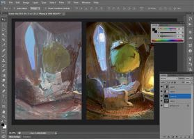 Digital Painting Workshop on May 11 by MarcoBucci