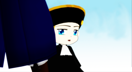 Hetalia MMD - Shyly Confused by YuMoriChii