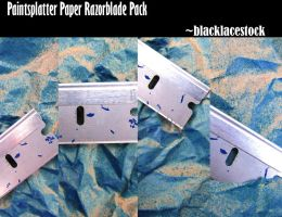 Paper Textures_Razorblade Pack by blacklacestock