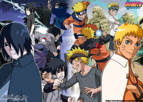 Naruto VS Sasuke - Friends, Rivals, Brothers by DennisStelly