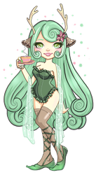 Lotus Fiore Commission by ma-petite-poupee
