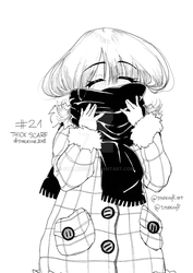 STALKINK2018 - DAY 21 [THICK SCARF]