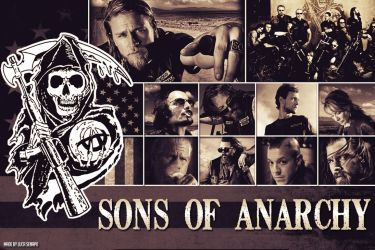 Sons Of Anarchy Wallpaper by Skrocco