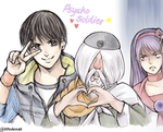 Psycho Soldier team by Ktovhinao