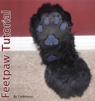 Fursuit Feetpaw Tutorial by Tsebresos