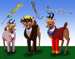 [AT] The Doctor Who Stags by Avionscreator