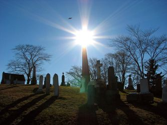 Christmas Day in the Cemetery by PaulMcKinnon