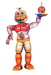 Funtime Chica full body edit by JoltGametravel