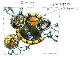 Science Centre Planning Sketch by maxine