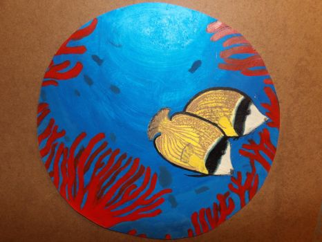 Vision from a porthole by soilik