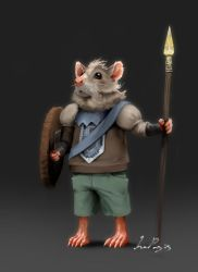 Mouse Warrior! by IroPagis