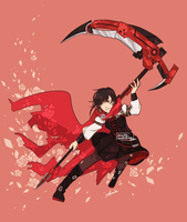 Ruby Rose by rainy-windchime