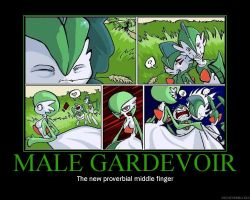 Male Gardevoir Demotivator by novaburst16