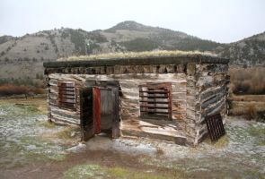 Bannack Ghost Town 364 by Falln-Stock