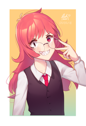Another Art Trade uwu by Yaoi-Foreva