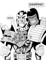 The Death Of Dredd by allistermac