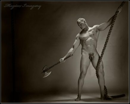 Warrior and Rope by Magicc-Imagery
