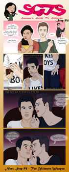 Klaine SGTS - Step 4: Touching by yu-oka