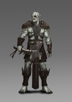 Barca the Butcher... Orc general by StalinDC