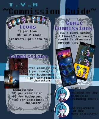 ~Commission Guide~ by Xonitum