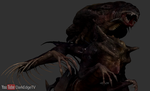 ZBrush - Draconic Xenomorph Queen by Rebecca1208