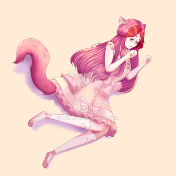 [REQUEST]Cat girl by Lalazy