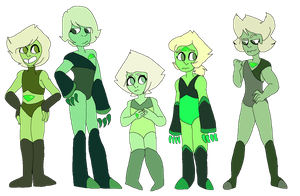 Peridot Adoptables (Closed) by p0ssum-boy
