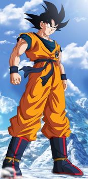 The Legend Returns! Goku New Movie by Koku78