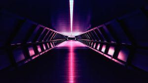 [OC] Synthwave - Aesthetic Corridor - 4k by Total-Chuck