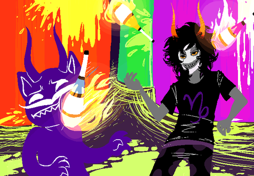 Gamzee: Get that motherfucker by a-song-unsung
