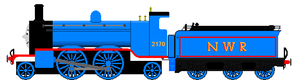 The NWR F2170 (Engines on a mission entry) by realbon1983
