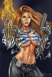 Witchblade by Evandion