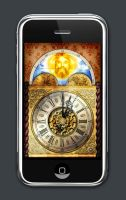 Brian Blessed Alarm Clock iPhone graphics by TerryLightfoot