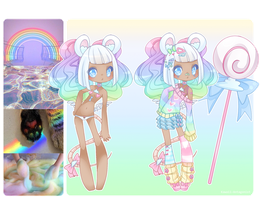 Candy Land - Aesthetic adopt #4 by kawaii-antagonist