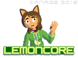 LemonCore Pixel Badge Thingy by ZanaGB