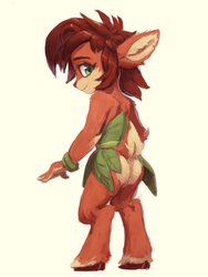 Elora the faun by RaikohIllust