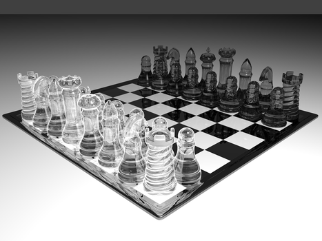 Chessboard at the ready by ArqalHada