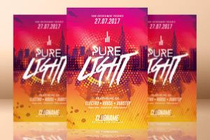 Pure Light Party | Flyer Template by RomeCreation