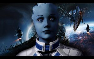 Mass Effect 2 Liara 3 by AgataFoxxx