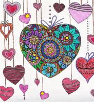 Hearts by WiccaSmurf