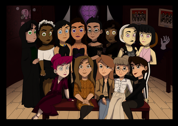    The 13 Witches    by Kat11120