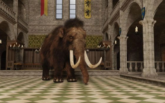 Iray Mammoth 2 by efredrules