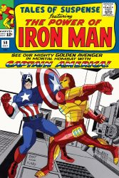 Tales of Suspense 58 Cover Animated Style by Tyraknifesaurus