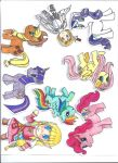 ponies and chibi's by tawnie8376